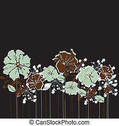 פרחים של ראטרו
