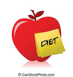פרסם, תפוח עץ, מילה, זה