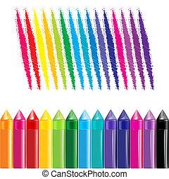 צבעוני, עפרוני צבע