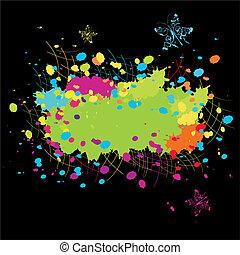 צבע, גראנג, תקציר, התפוצצות
