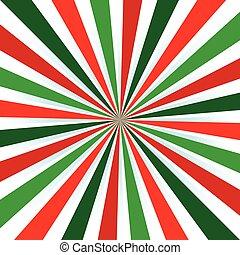 צבע, התפוצץ, שמש, רקע., צבעים, חג המולד