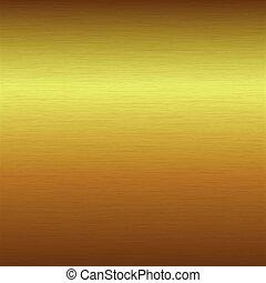 צחצח, זהב, התגלה