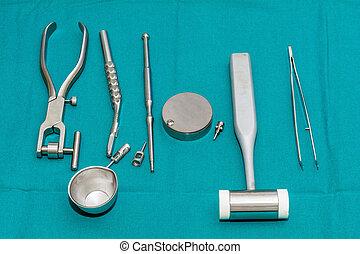 ציוד, כלים של השיניים, מבצע