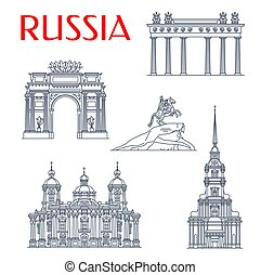 ציוני דרך, צדיק, פטרסבורג, רוסי, אדריכלות