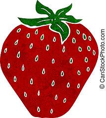 ציור היתולי, תות שדה