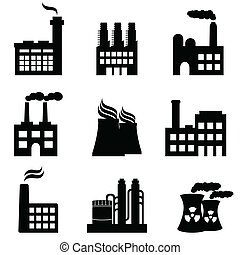 צמחים, מפעלים, תעשיתי, הנע, בנינים