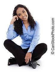 צעיר, אישת עסקים