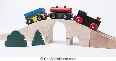 צעצוע מעץ, אלף, ב, גשור