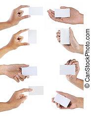 קבע, עסק, יד מחזיקה, טופס, כרטיס