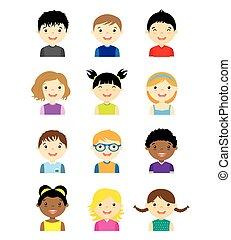 קבע, avatar, ילדים
