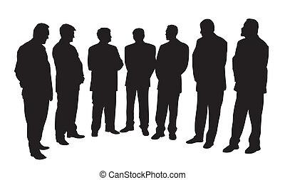 קבץ, אנשים של עסק