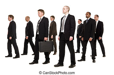 קבץ, אנשי עסקים