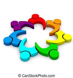 קבץ, עסק, -, 7, התחבר פגישה