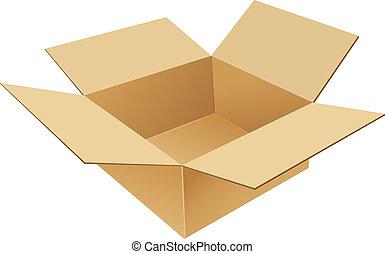 קופסה, קרטון