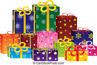 קופסות, מתנה