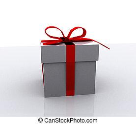 קופסות, -, מתנה, 3d