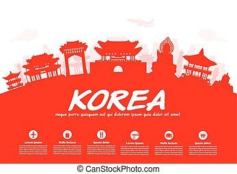 קוריאה, טייל, landmarks.