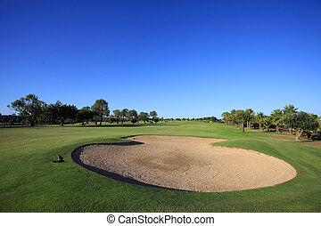 קורס, גולף
