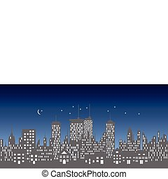 קו רקיע, עירוני, בנינים, גורדי שחקים