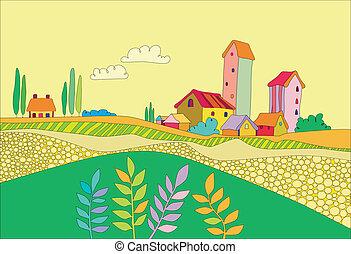 קטן, כפר