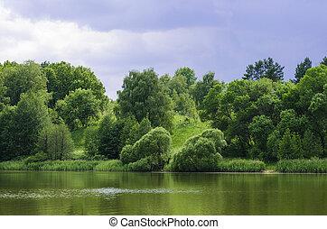 קיץ, אגם