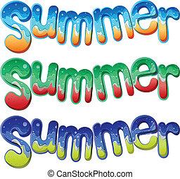 קיץ, טקסטים