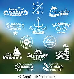 קיץ, יסוד, כנה, קבע