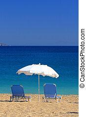 קיץ, על החוף, ב, יוון
