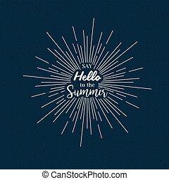 קיץ, עצב, זמן