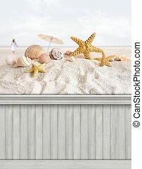 קיץ, קיר, background/backdrop
