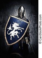 קיר, אביר, גלען, של ימי הביניים, נגד