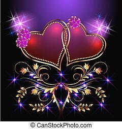 קישוטי, לבבות, כוכבים