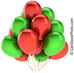 קישוט, מפלגה, יום הולדת, בלונים