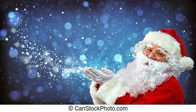 קסם, כלאאס, שלו, סנטה, אור, ידיים