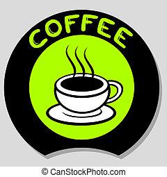 קפה, איקון
