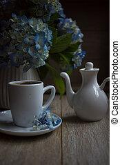 קפה, זמן של בוקר