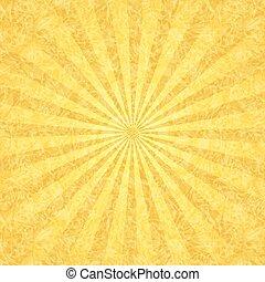 קרנות, גראנג, רקע צהוב