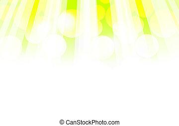 קרנות של שמש, רקע