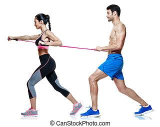 קשר, איש ואישה, כושר גופני, תרגילים, הפרד