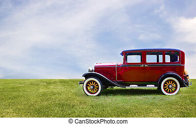 ראטרו, מכונית.