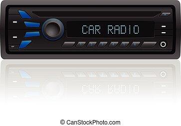 רדיו של מכונית