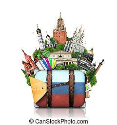 רוסיה, ציוני דרך, מוסקווה