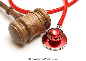 רפואי, תביעה משפטית