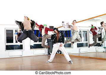 רקדן, .break