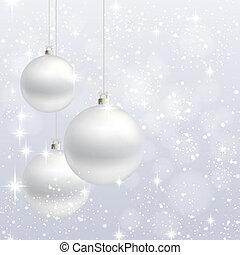 רקע, וקטור, קישוט, כרטיס של חג ההמולד