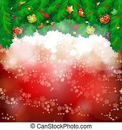 רקע, חג המולד, אדום