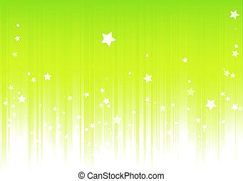 רקע, ירוק