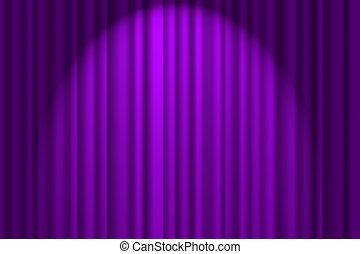רקע סגול, ארוג