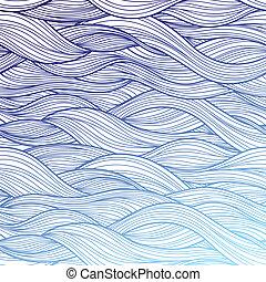 רקע, סגול, תקציר, גלים