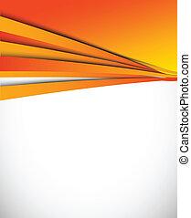 רקע של תפוז